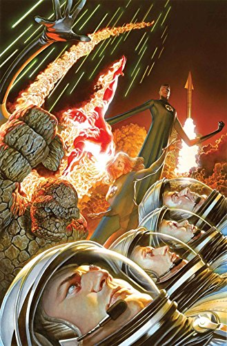 marvel-comics-fantastic-four-1-24-x-36-rolled-poster-by-alex-ross