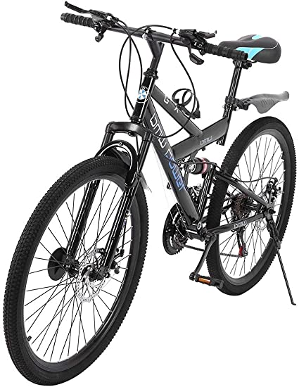 """26/"""" Mountain Bike Full Suspension 21Speed Shimano Dual Disc Brakes Bikes Bicycle"""
