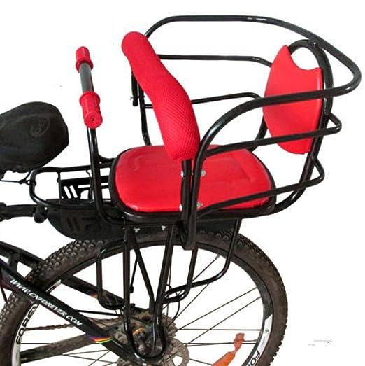 ZQZQMR Asiento de Bicicleta para niños, cojín de sillín de ...