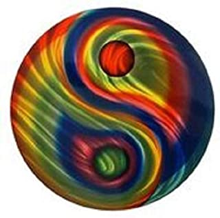 product image for Yin Yang 16 inch Round Wall Art
