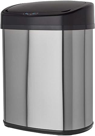 Poubelle Automatique Capteur Sensor Inox Capacité 38l Avec Adapt