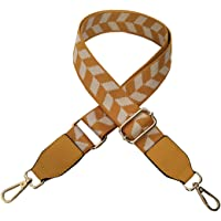 ACVIP Young Women's Herringbone Pattern Adjustable Clip-on Broad Handbag Strap Replacement Cord