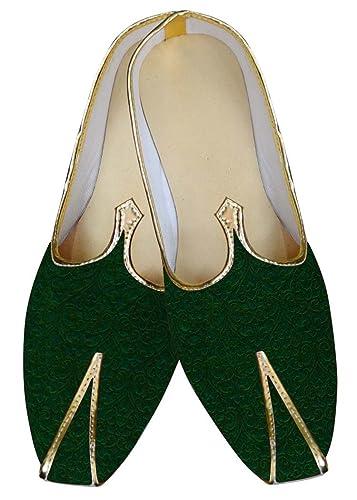 Mens Green Wedding Shoes Designer MJ014717