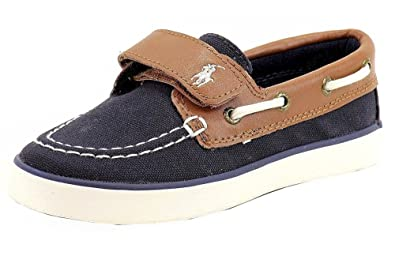Amazon.com   RALPH LAUREN Polo Boy s Sander-CL EZ Fashion Boat Shoes ... 91c0ba5dad79