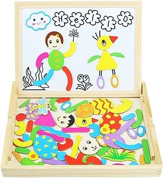 Puzzle Magnetico Niños de Madera Pizarra Magnética Infantil con Rompecabezas Caja Juguete Educativo Puzzle de Animales Regalos Juguetes Niños 3 Años: Amazon.es: Juguetes y juegos