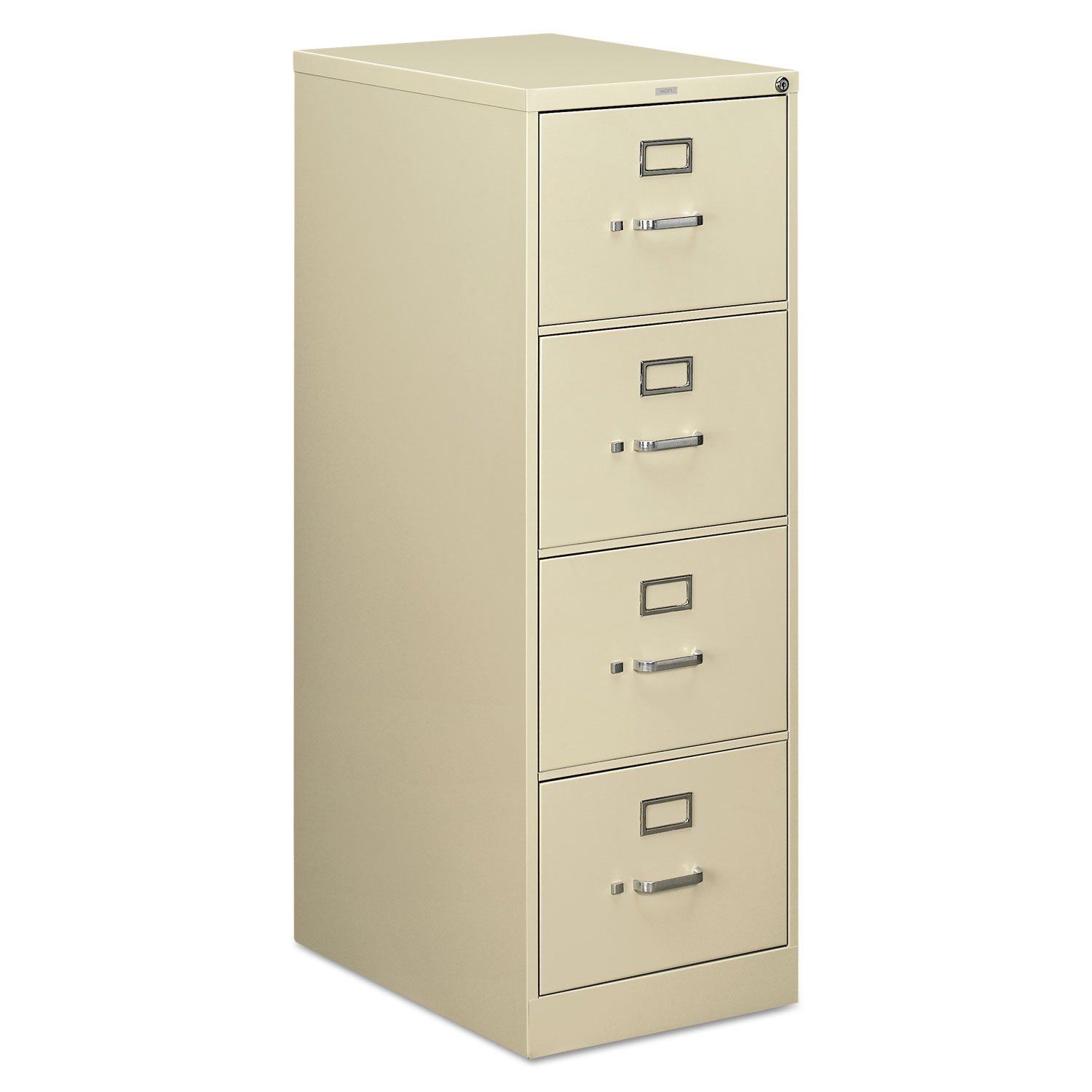HON 514CPL 510 Series Four-Drawer Full-Suspension File, Legal, 52h x25d, Putty