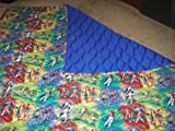 Rainbow Sports Quilt - Size 80in X 80in