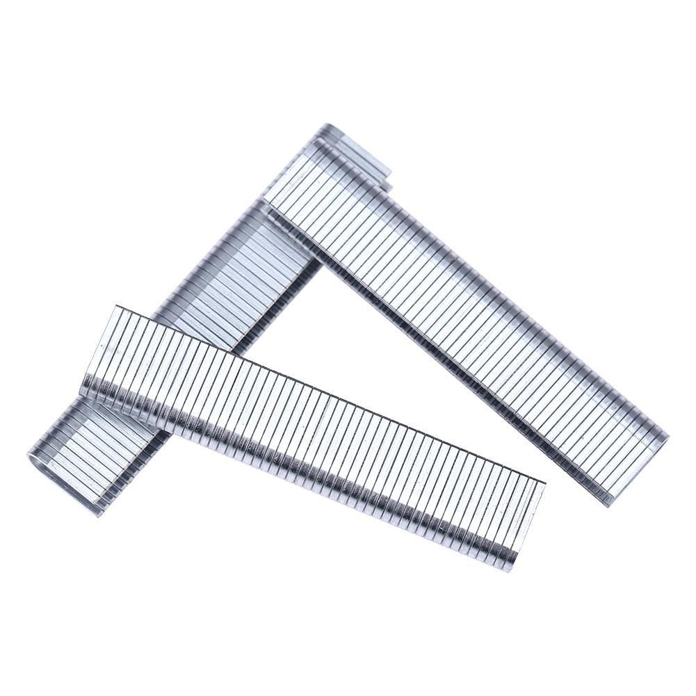 Starnearby 1000 pcs en forme de T/en forme de U/porte Forme ongles agrafe pour travail du bois agrafeuse agrafeuse