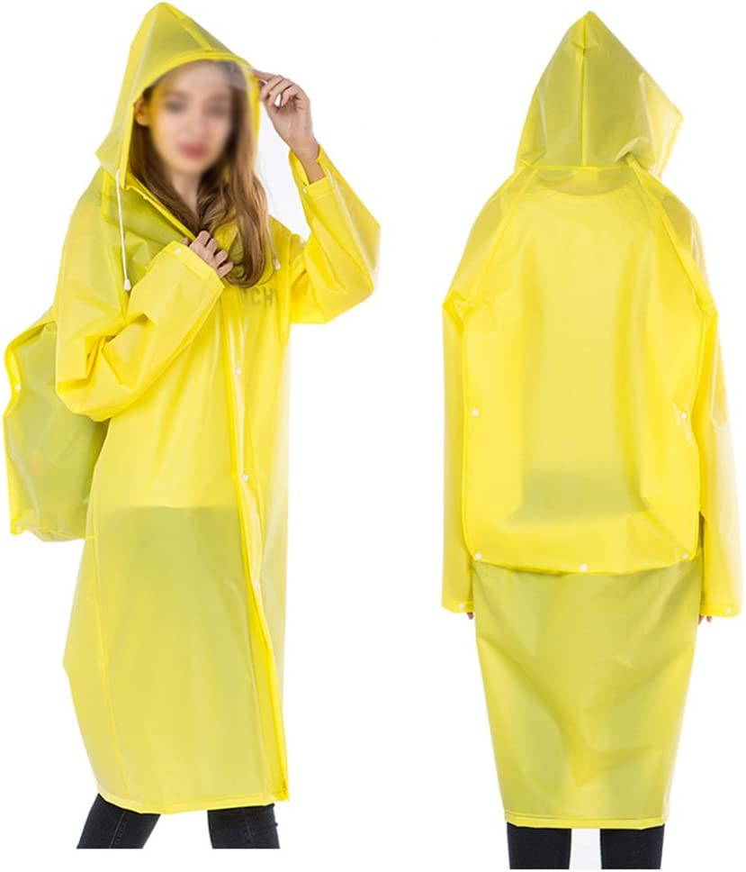 R/ésistant /à la corrosion Plateau imperm/éable /à gros long pour ordinateur portable Poncho pour pluie pour homme et femme pour femme et femme Sac /à dos transparent avec capuche et manches Protection env