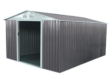 Habitat et Jardin - Abri de jardin métal Dallas - 12.99 m²: Amazon ...