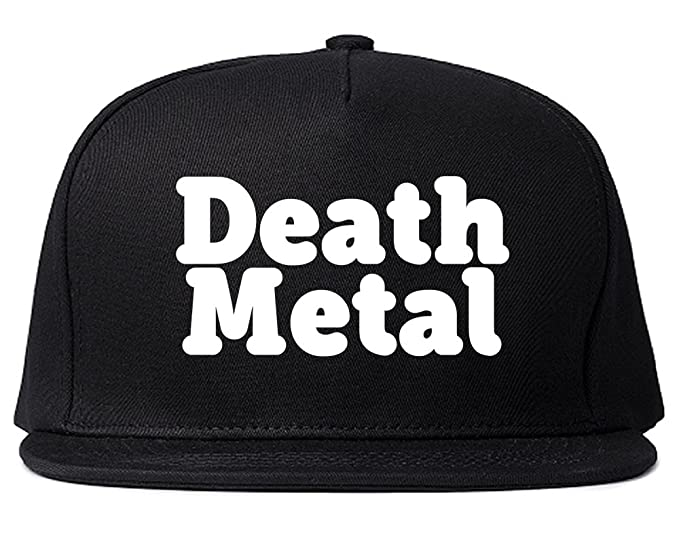 6990f100fba80 Death Metal Rainbow Unicorn Snapback Hat Cap Black at Amazon Men s ...