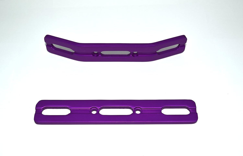 E-Revo  Brushed Aluminum Bumper Set NEW Inclues a free set of 4 shock springs