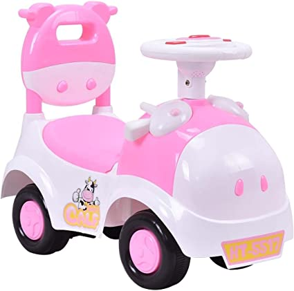 Amazon.com: Costzon Kids Ride On Push Car, 2 en 1 carro ...