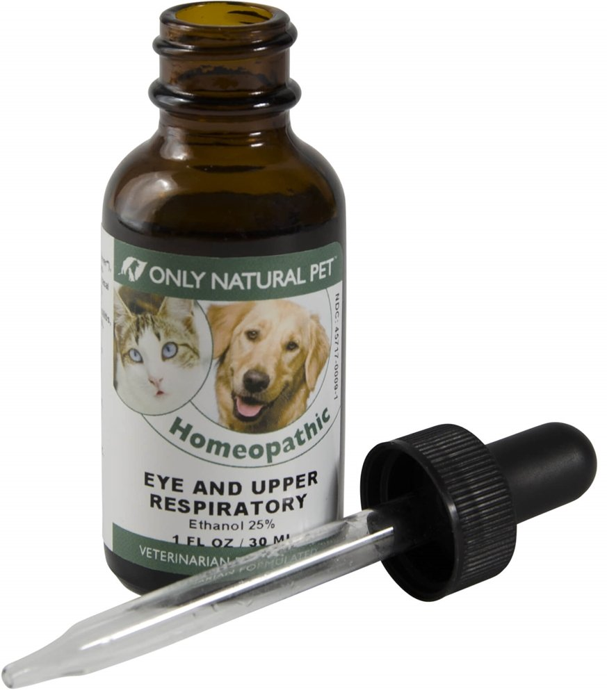Only Natural Pet Eye & Upper Respiratory Treatment Homeopathic Supplement Remedy by Only Natural Pet