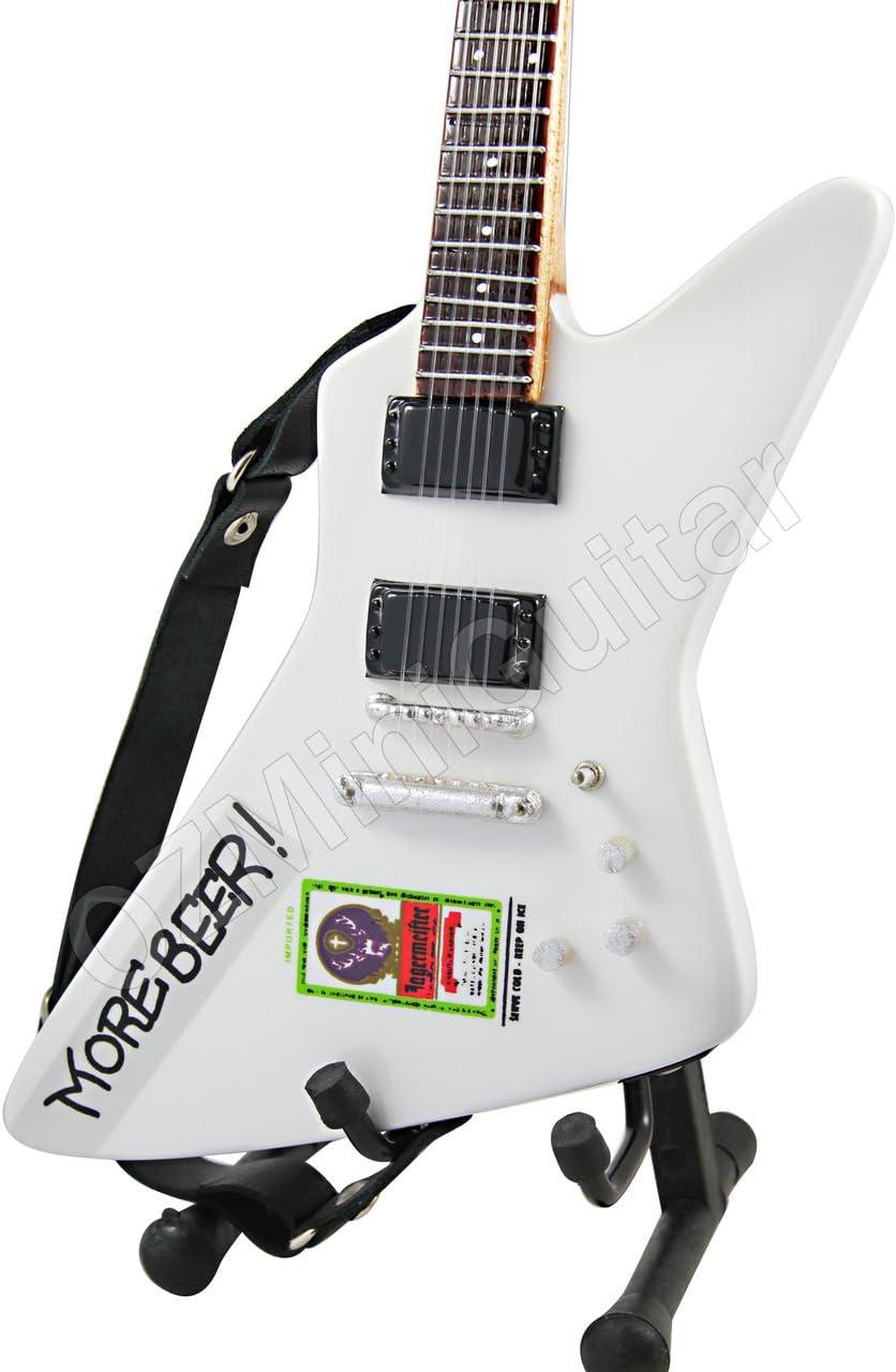 OZMiniGuitar Guitarra Miniatura James Hetfield Metallica More Beer: Amazon.es: Hogar