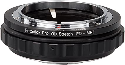 Fotodiox Dlx Stretch Lens Mount Adapter Compatible With Canon Fd And Fl Lenses On Micro Four