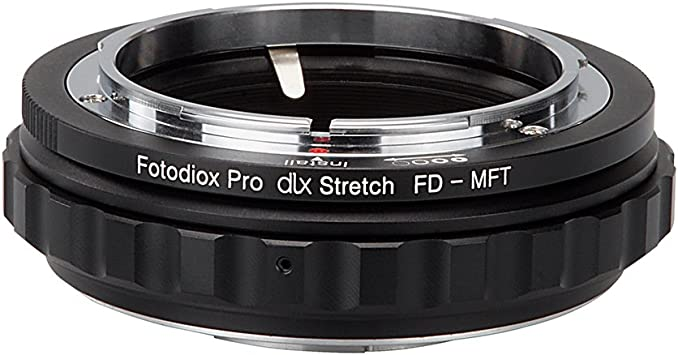Adaptador Canon FD a Blackmagic Cinema Camera MFT-Mount Pocket micro cuatro tercios