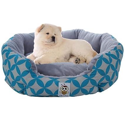 Nunubee Camas y cojines para perro, para caseta de mascota, almohadilla impermeable para gatos