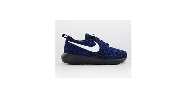 size 40 d09d1 8b721 NIKE WMNS Roshe NM Flyknit Women Sneaker Blue 843386 404, Size 36.5