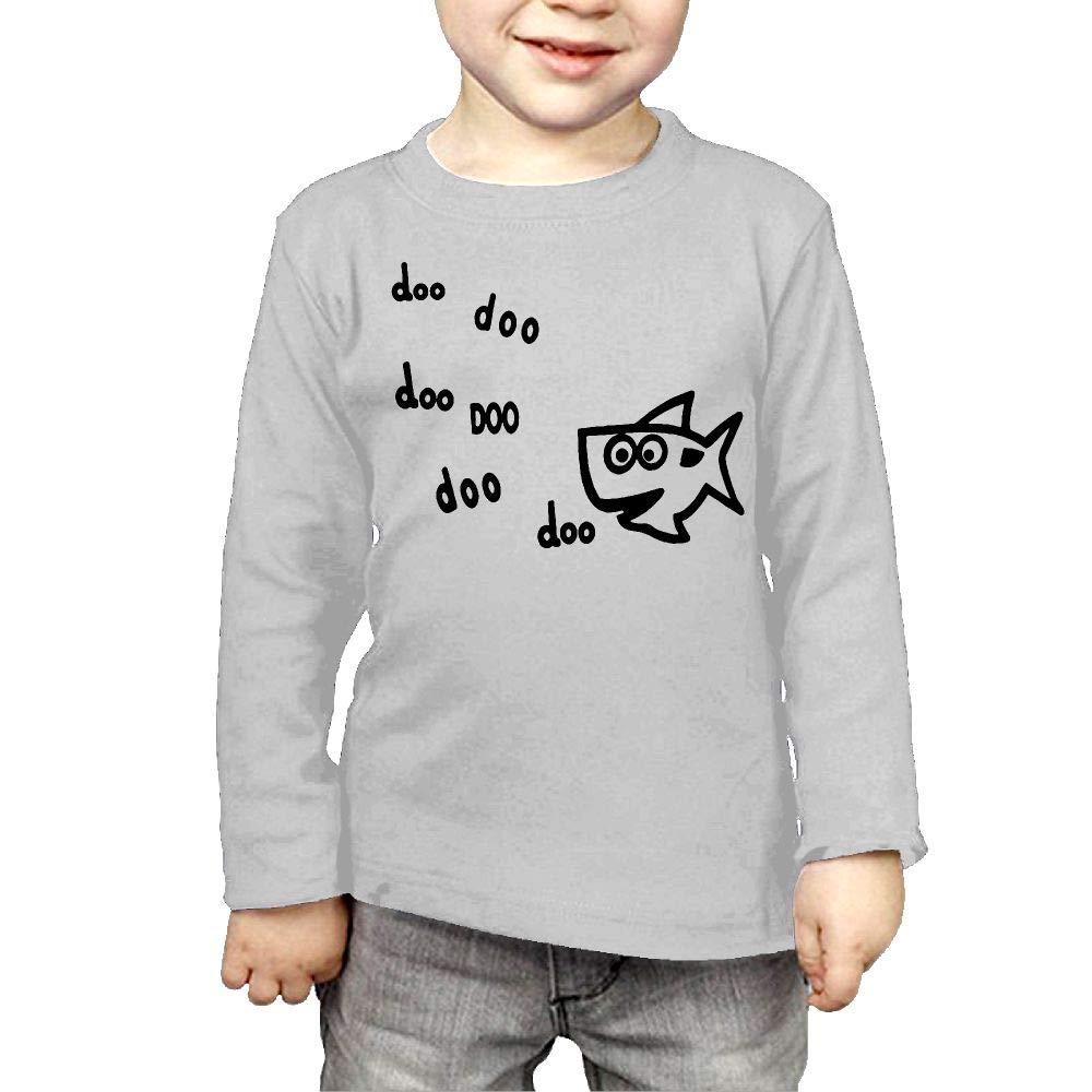 Fryhyu8 Baby Boys Childrens Fish Printed Long Sleeve 100/% Cotton Infants T Shirts