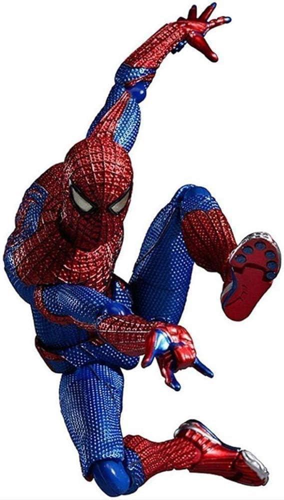 WANGSHAOFENG Modelo de Juguete Movie Avengers Personaje Spider-Man Superhero Figura Modelo Modelo Movable Figura 16 cm Regalos para niños Spiderman Negro