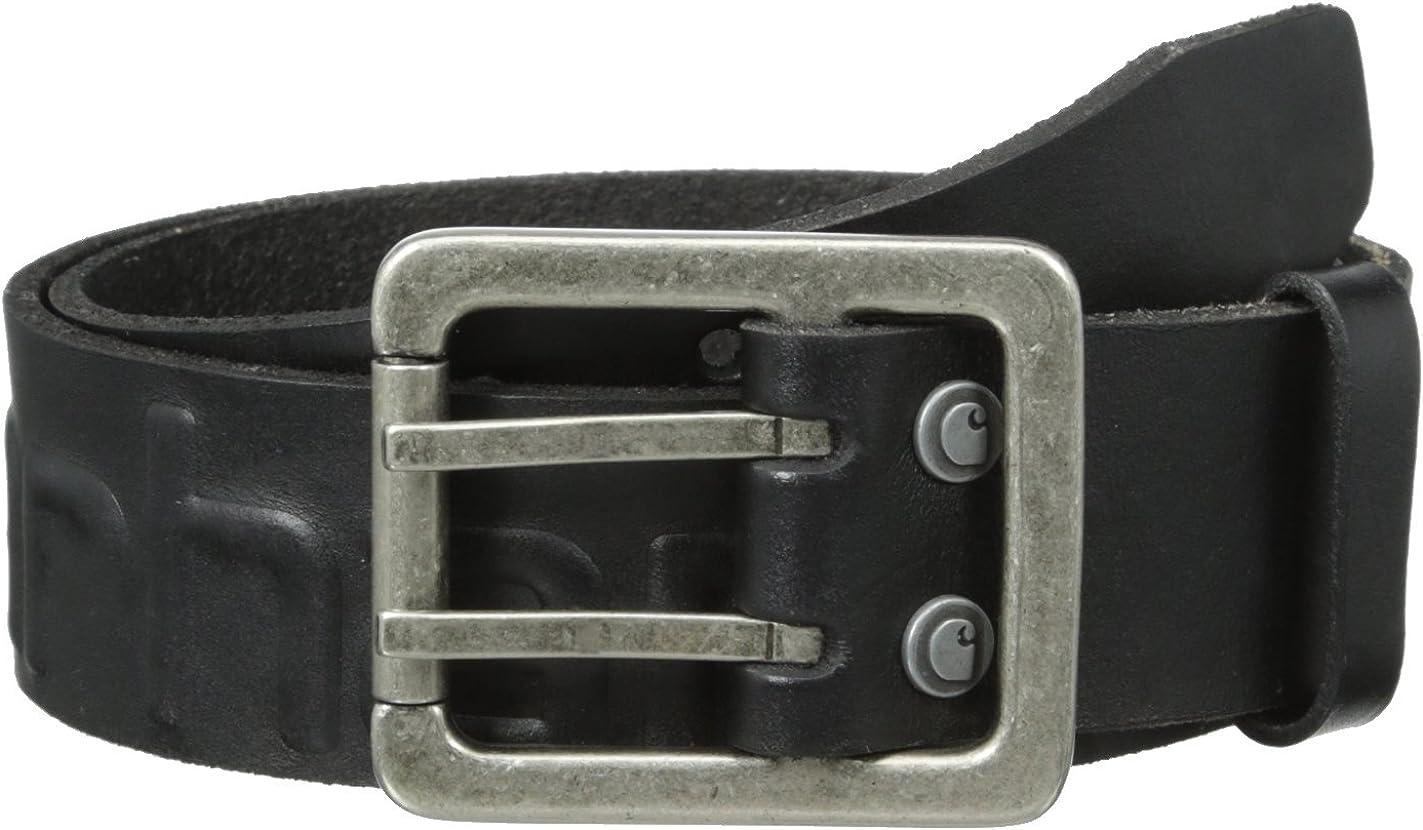 Carhartt 2217 Mens Logo Belt Brown