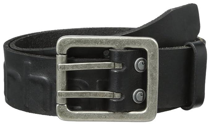 d6674b6f74 Carhartt Men's Logo Belt at Amazon Men's Clothing store: Apparel Belts