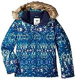 Roxy Big Girls' American Pie Snow Jacket, Sodalite Blue_Haveli Ikat, 8/Small