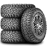 305/70R17 Tires - Set of 4 (FOUR) Kanati Trail Hog A/T-4 All-Terrain Radial Tires-LT305/70R17 121/118Q LRE 10-Ply