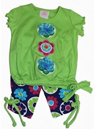 94acf3319381 Amazon.com  Molly   Millie Baby-girls Bubble Tunic and Capri  Clothing