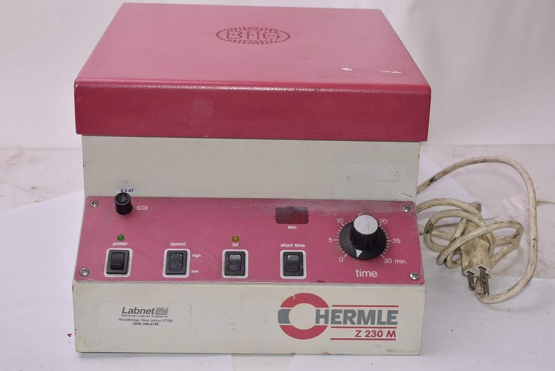 Hermile D-7209 Z 230 M Goshem Refiridgerated Lab Centrifuge