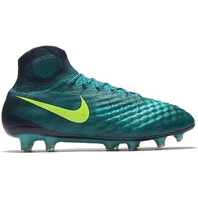 Nike Mens Magista Obra FG Soccer Cleat (Sz. 8) Rio Teal