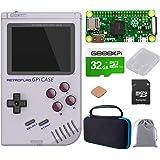 GeeekPi Retroflag GPi Case with Raspberry Pi Zero W & Raspberry Pi Heatsink & Black Carrying Bag & 32G SD Card for…