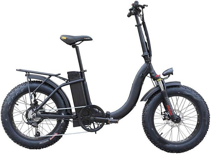 YAzNdom Bicicleta Eléctrica Manejable Bicicleta De Montaña ...