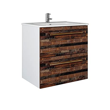 Randalco 24u0026quot; Maine Modern Bathroom Vanity Cabinet Set | 24 X 24 X 18  Inch