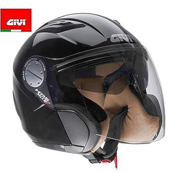 GIVI HX07CN90254 Hps Jet-Casco X07C Comfort, Color Negro, Talla XS