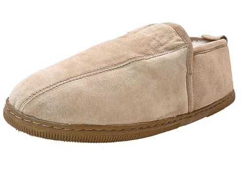 19c3a866d14f WoolWorks Model 9907 Men s Dunstin Australian Shearling Sheepskin Slippers  - Size 7