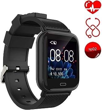 Ayete Smartwatch Fitness Tracker con frecuencia cardíaca Monitoreo ...