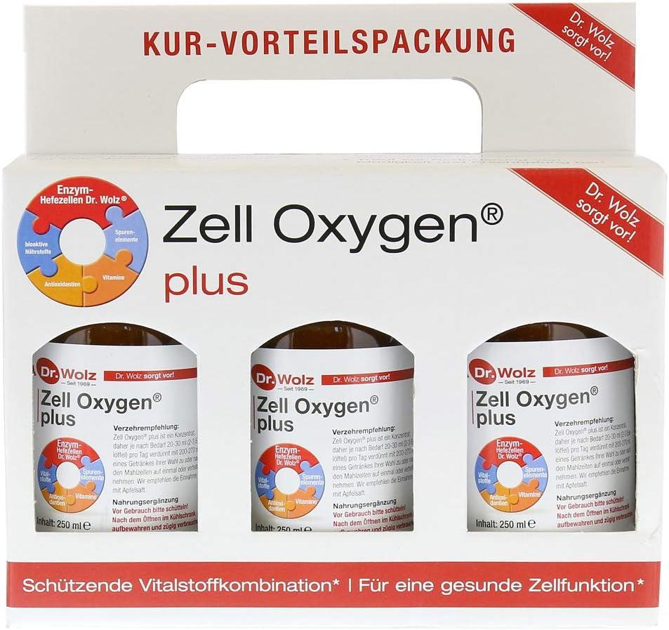 Zell Oxygen Plus Triple Pack (3x250ml): Amazon.es: Hogar
