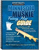 Minnesota Muskie Fishing Map Guide, Sportsman's Connection, 1885010338