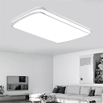 MCTECH® 96W LED Deckenleuchte Deckenlampe Kaltweiß Doppelte ...