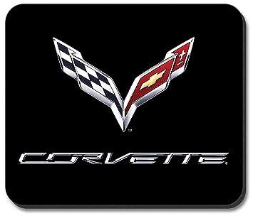 Amazon.com: C7 Corvette Emblem Mouse Pad: Home & Kitchen