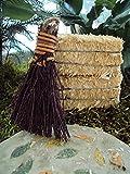 Miniature Garden 2 x Hay Bales & 1 x 3″ Cinnamon Scented Broom