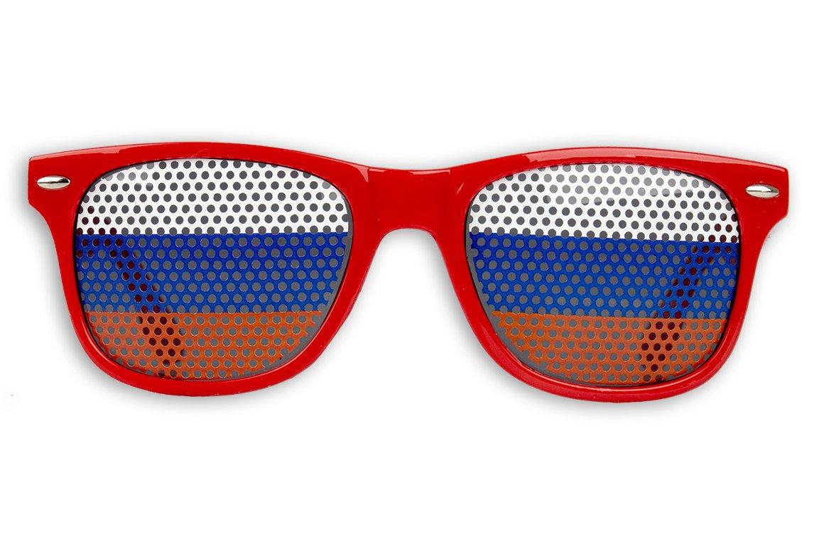50 x Fanbrille Russland - Russia eIL5fBw