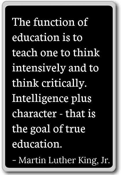 Amazon Com The Function Of Education Is To Tea Martin