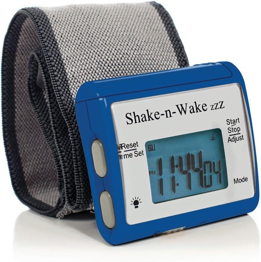 サイレントバイブレーション 振動式目覚まし時計 シェイクン・ウェイク 消音アラーム腕時計