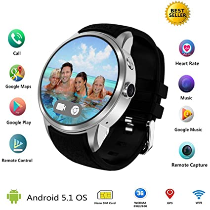 Amazon.com: TLgf Smart Watch Phone Heart Rate Blood Pressure ...