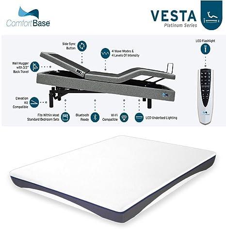 Amazon.com: Glideaway Vesta - Cama ajustable con elección de ...