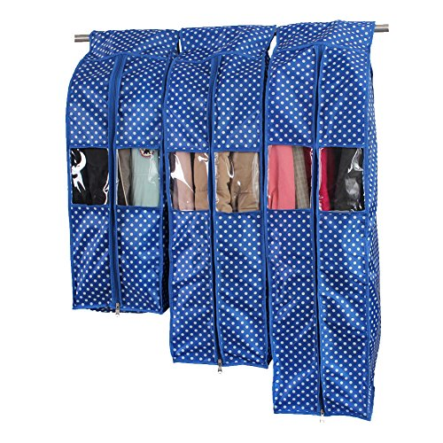Storage Oxford Fabric Garment Covers Blue product image