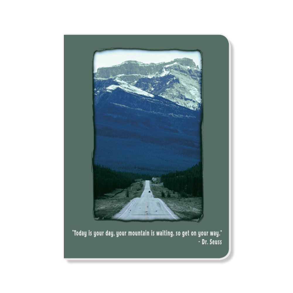ECOeverywhere Your Mountain Sketchbook, 160 Pages, 5.625 x 7.625 Inches (sk14189)